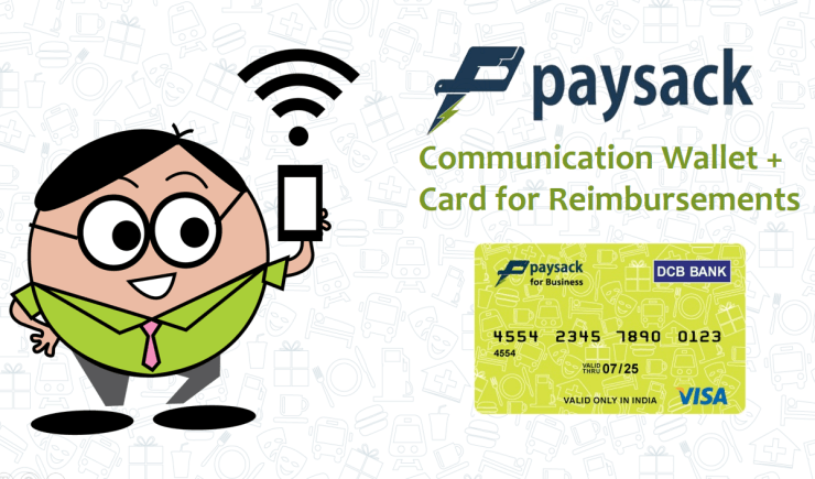 Paysack Communication Reimbursement Card