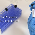 How to Properly Attach a Lab Label Thumbnail