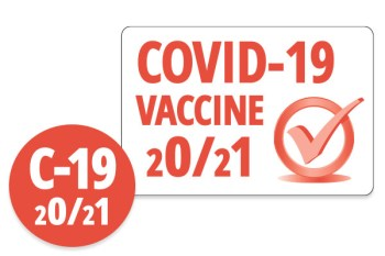 COVID Vaccine Stickers PDC