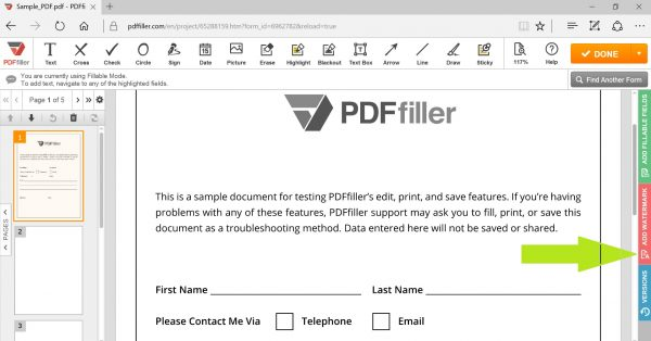 a straightforward and fast way edit pdf documents online