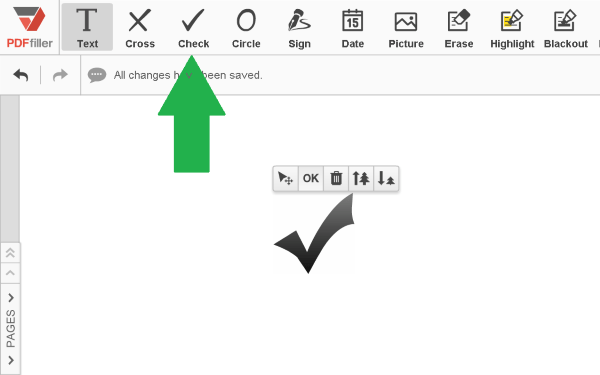 checkmarks, add a checkmark, add checkmarks to a pdf document, pdf, adding checkmarks, PDFfiller, pdffiller features, PDFfiller tips, best PDF editor, PDF Editor, edit document online