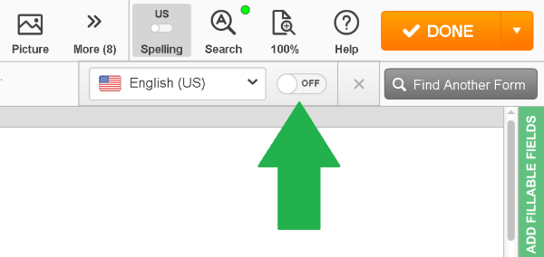 spellchecker, PDFfiller, best PDF editor, document editor online, edit PDF documents