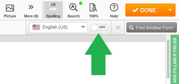 spellchecker, PDFfiller, best PDF editor, document editor online, edit PDF documents