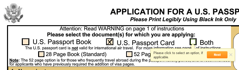 Get A New Passport By Filling Out Form Ds 11 With Pdffiller
