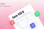 Form 433 В