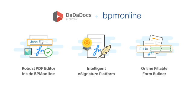PDF editor, eSignature manager, fillable form builder for bpm'online