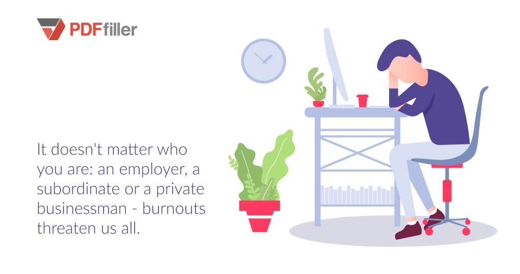 professional burnout, business automation, productivity, business psychology