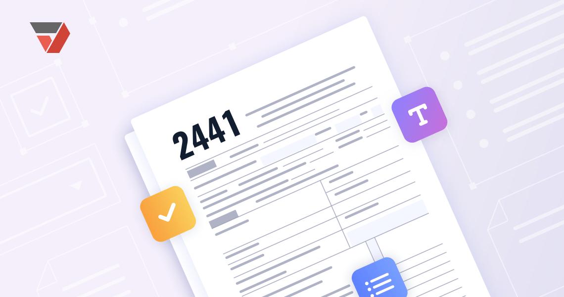 IRS Form 2441