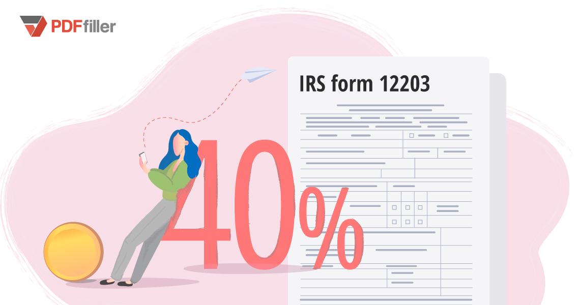form 12203