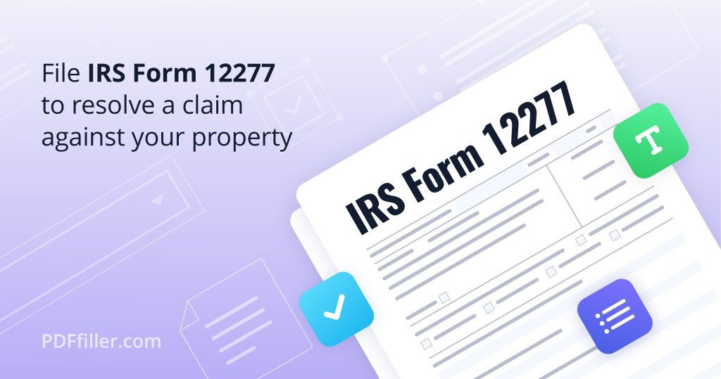 IRS Form 12277