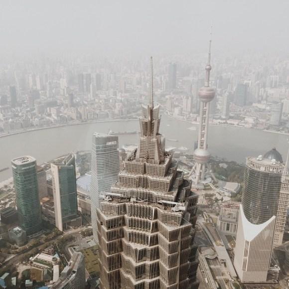 Shanghai Skyline #Shanghai #Skyline #topoftheworld