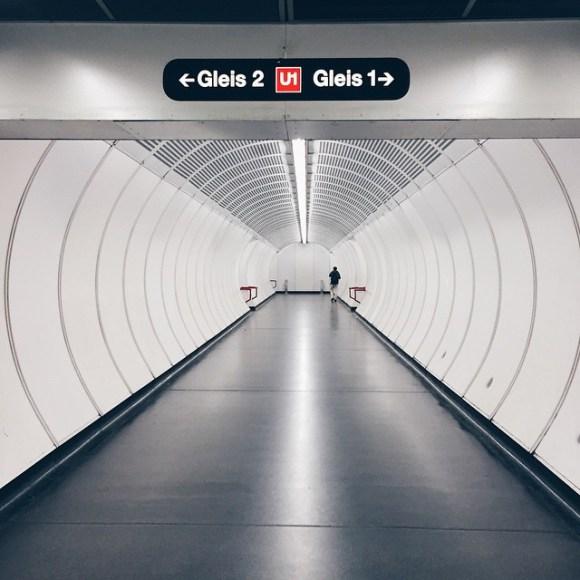 Focal point  #Vienna #Wien #pathways #architecture #subway #ubahn