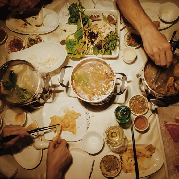 Farewell Shanghai Dinner :) #China # hotpot
