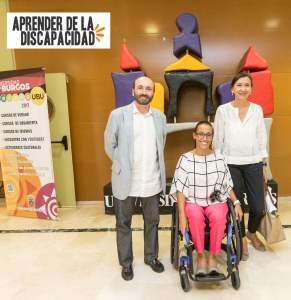 Teresa Perales en la Unversidad de Burgos