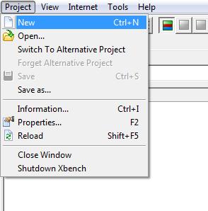 Εικ. 2 Project > New