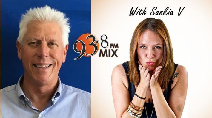 INTERVIEW WITH SASKIA V OF MIX 93.8 FM (7 FEBRUARY 2018)