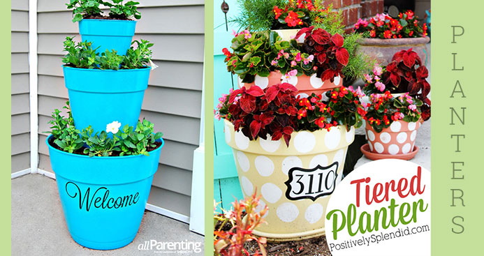 Umbrella Planter Pots