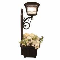 Solar LED Lantern and Planter
