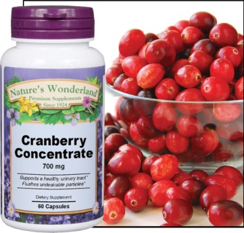 Penn Herb's Cranberry Concentrate in capsules.