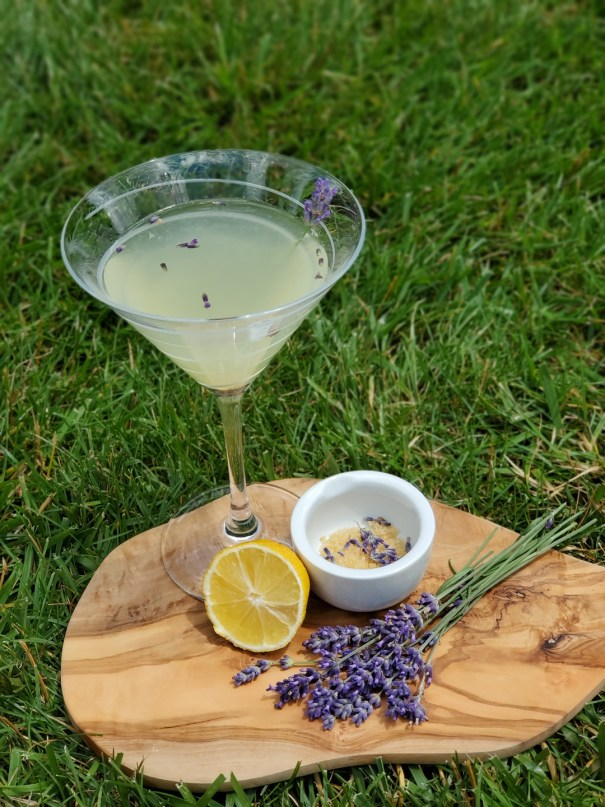 Lavender Lemon Drop Martini