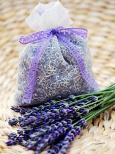 Lavender flower sachet