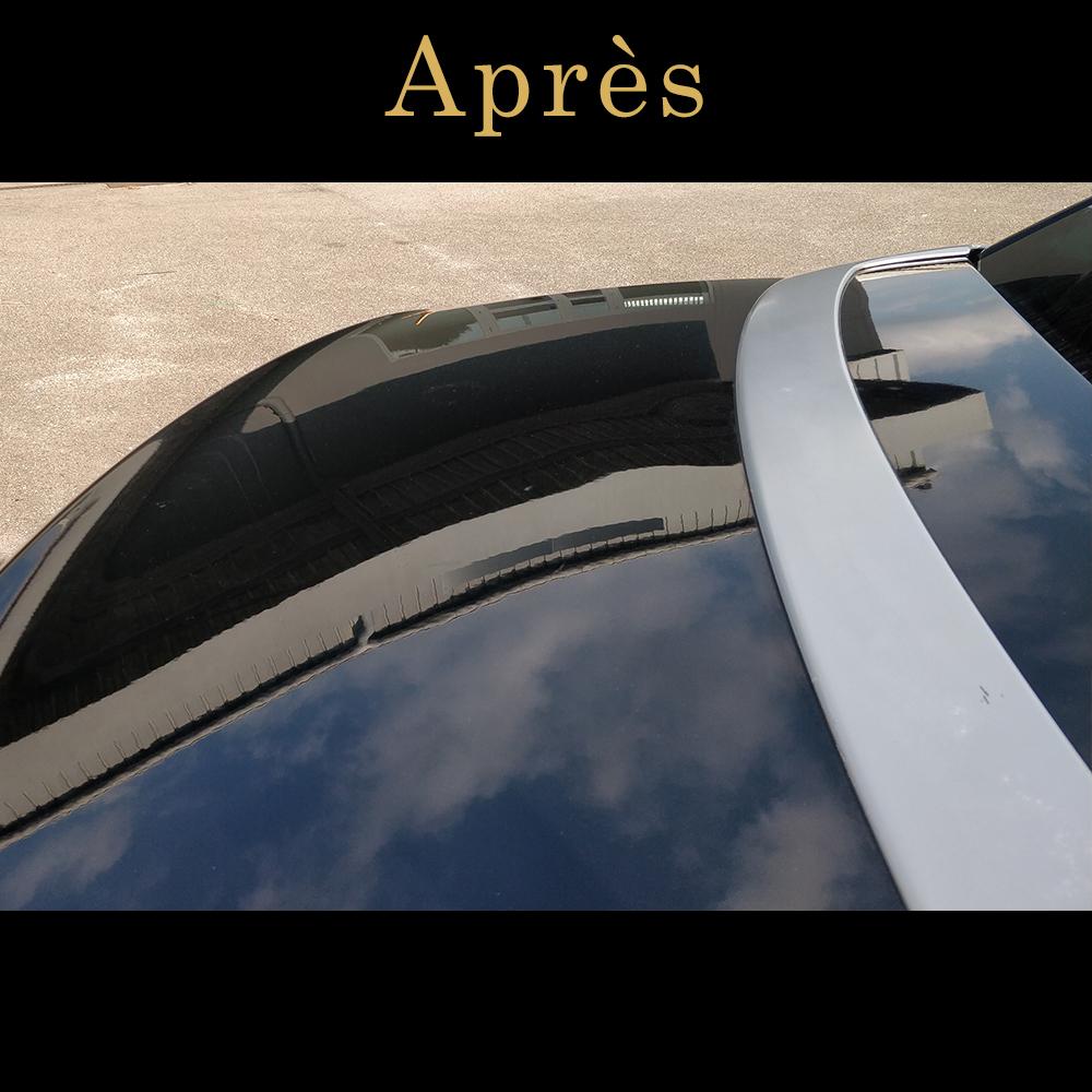 lustrage voiture avant après