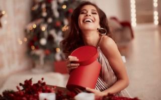 Un maquillaje sutil para Navidad