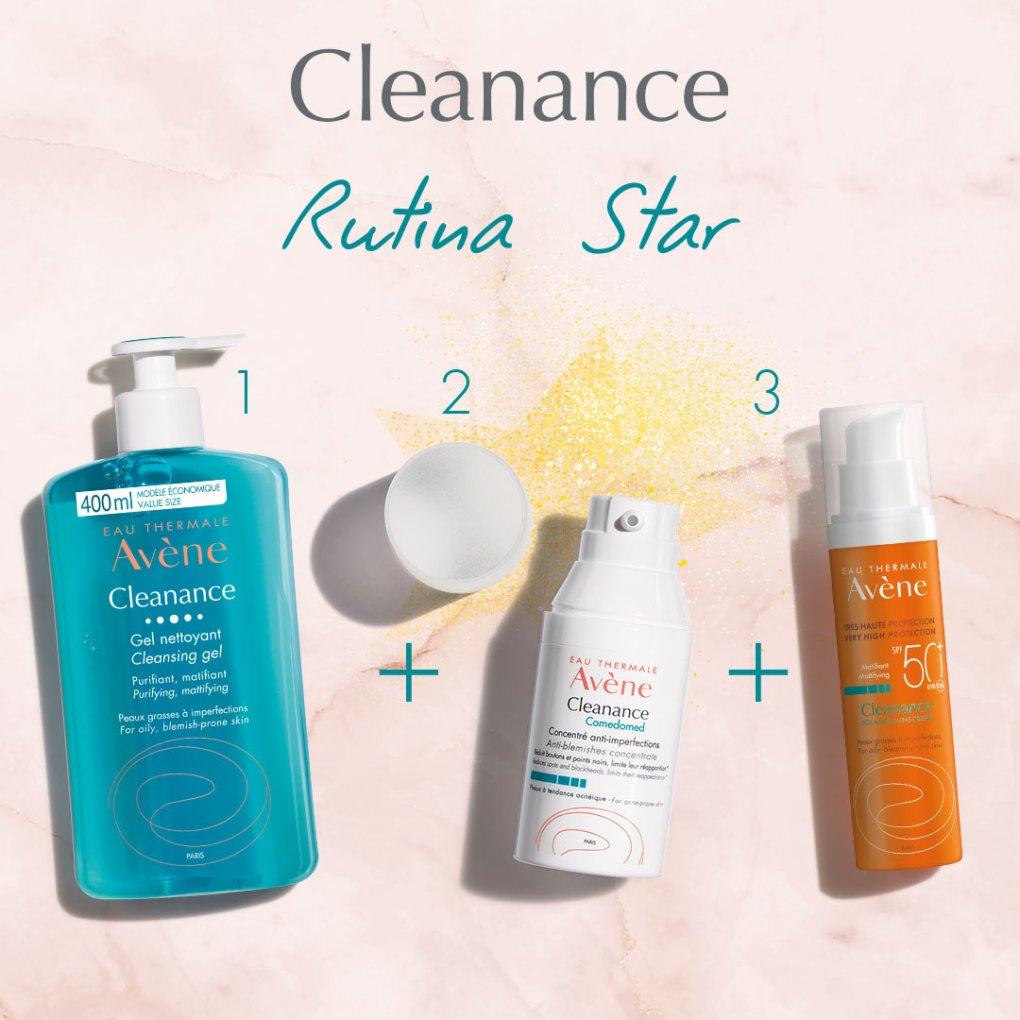 Protector solar pieles mixtas y grasas avene cleanance
