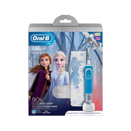 Oral-B Pack Cepillo Vitality Kids Frozen+ Funda de Viaje + 4 pegatinas Perfumerías Ana