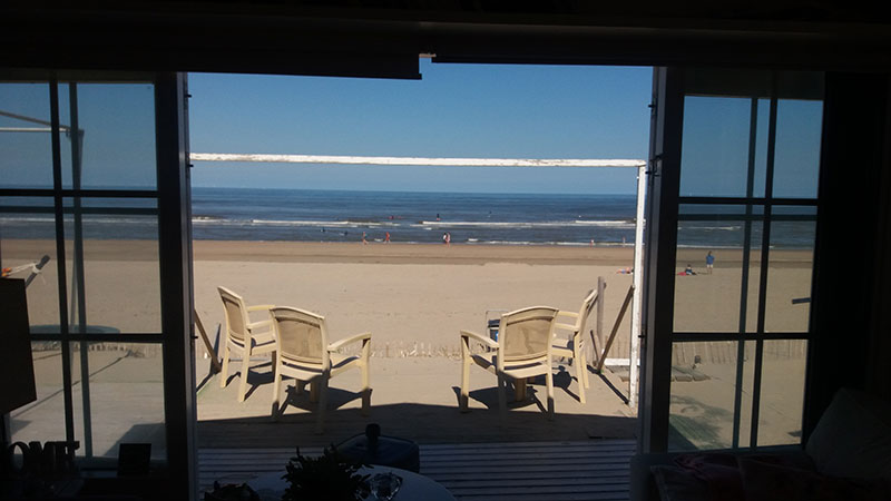 Uitzicht strand