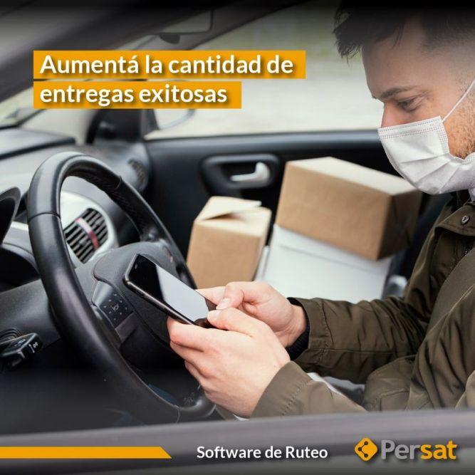 Software de Ruteo para aumentar las entregas exitosas   PERSAT