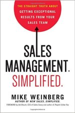 sales management simplified mike weinberg