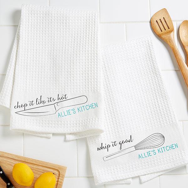 Kitchen Puns Towels