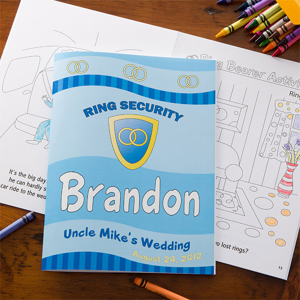 ring security coloring book