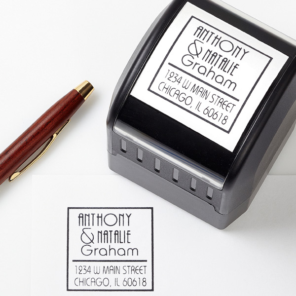 Your Names Self-Inking Address Stamper
