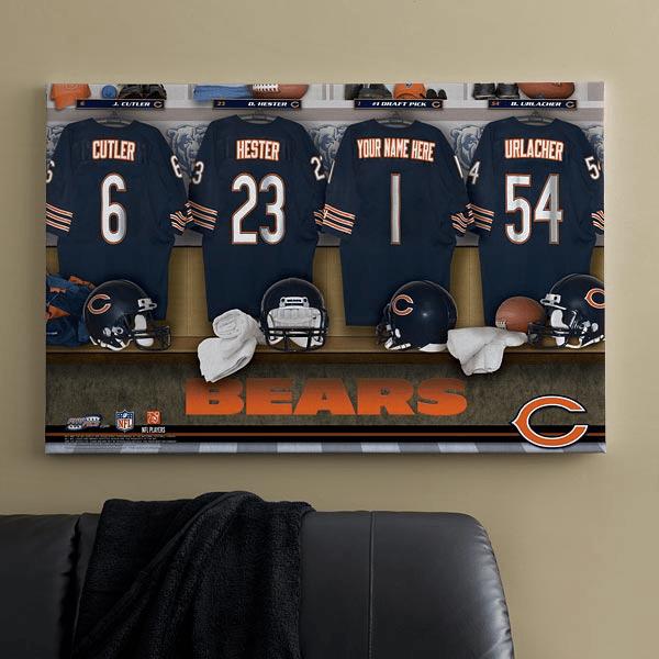 bears canvas art