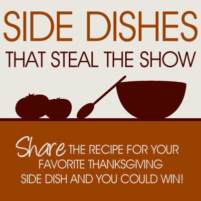 Side Dishes That Steal The Show Contest