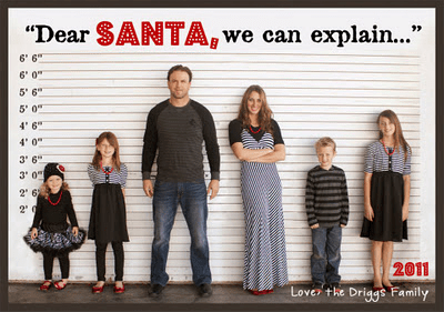 13 ideas for cute and clever christmas card photos - Family Photo Christmas Cards