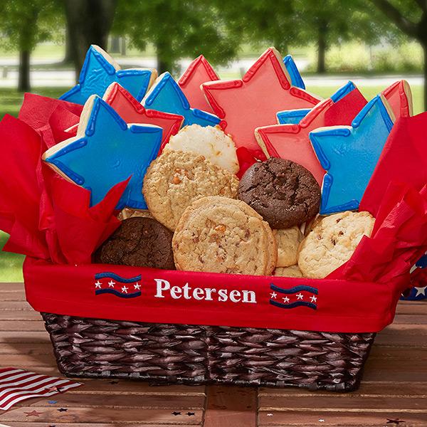 4th of July basket