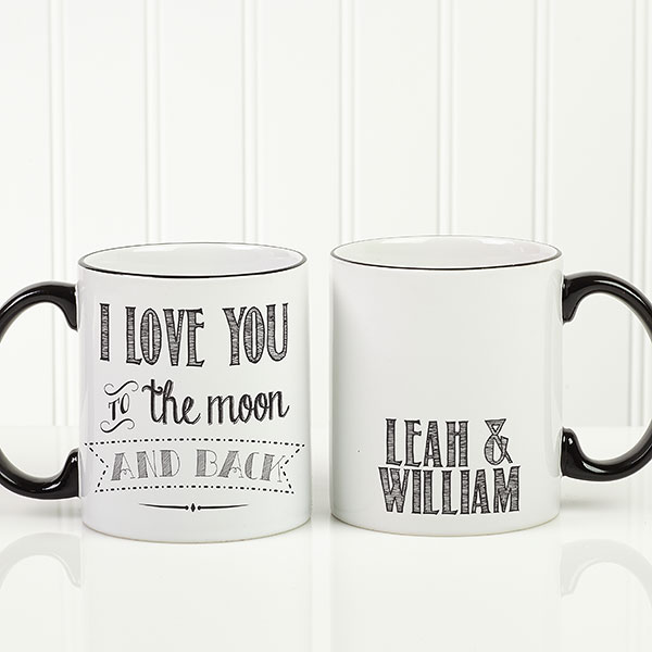 Custom Love Quotes Coffee Mug