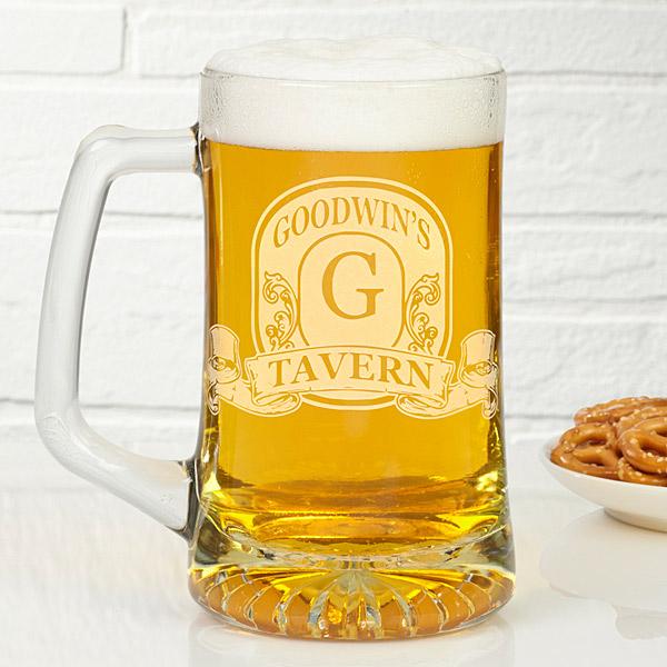 custom beer mug for dad