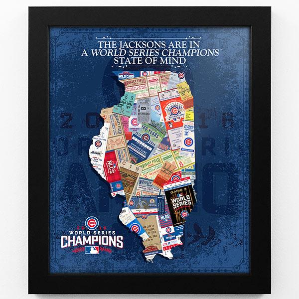 Chicago Cubs World Series Art