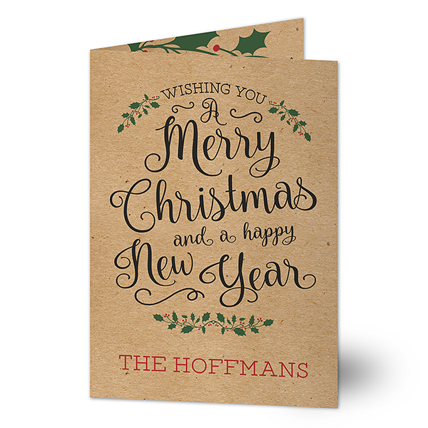Traditional Folded Christmas Cards