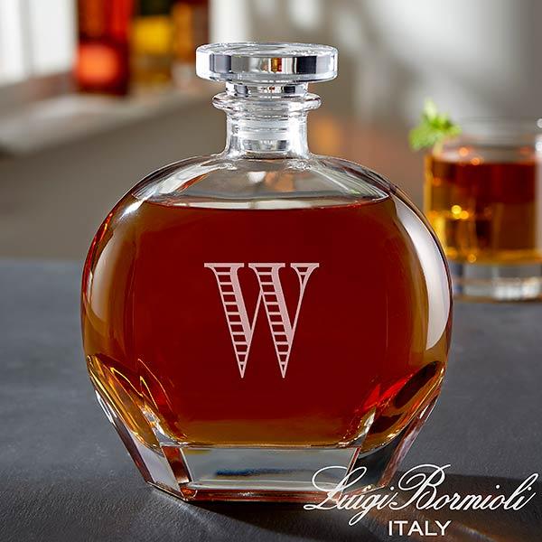 Monogram Whiskey Decanter