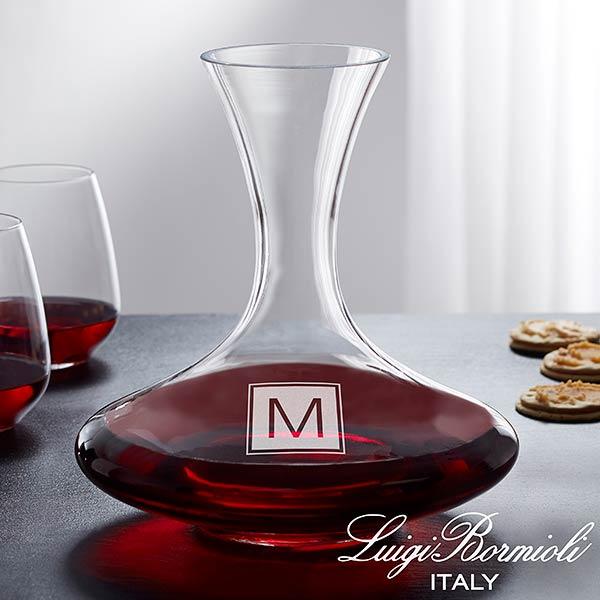 Monogram Wine Decanter