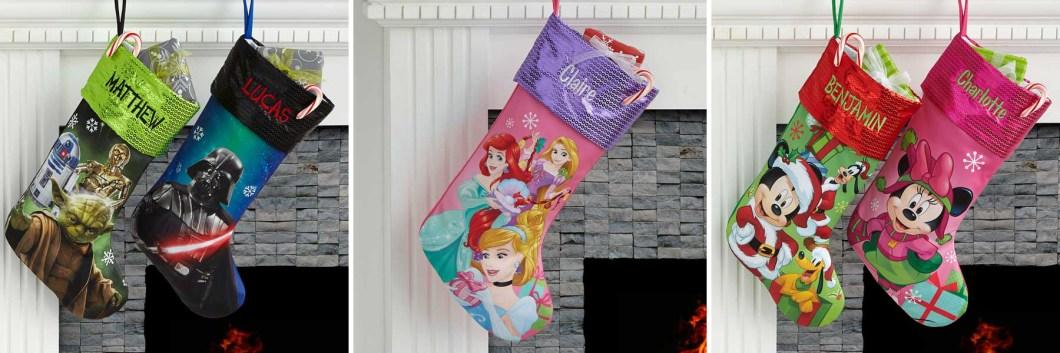 Personalized Kids Christmas Stockings