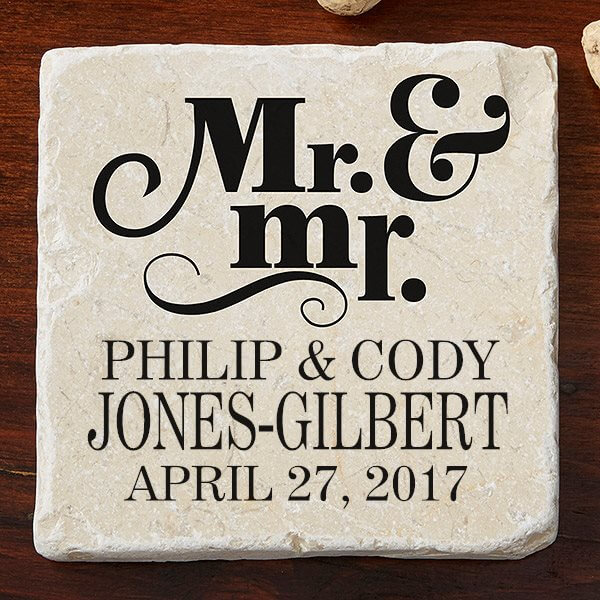 Personalized Coasters - Wedding Gift