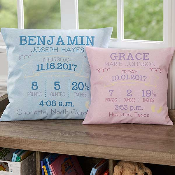 Baby Keepsake Pillows