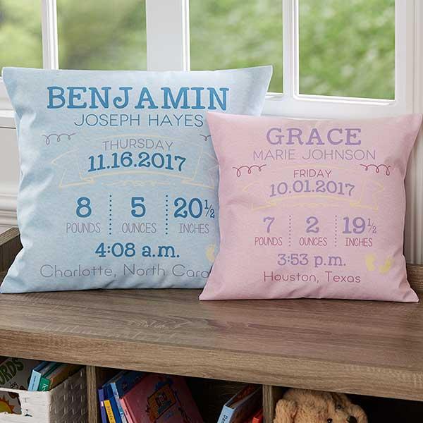 Baby Keepsake Pillows