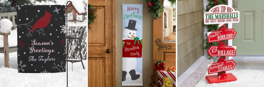 Holiday Entryway Decor